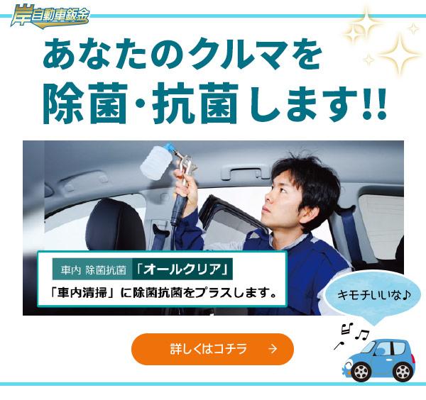 車内除菌抗菌